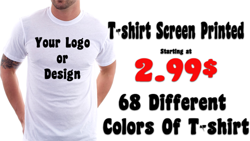 T-shirt Printing Lachine | Custom T-shirts| Screen Printing Lachine