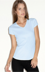 bella v-neck wholesale t-shirt