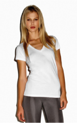 Women T-shirt v-neck wholesale